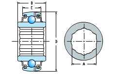Diámetro redondo y tipo OD esférico