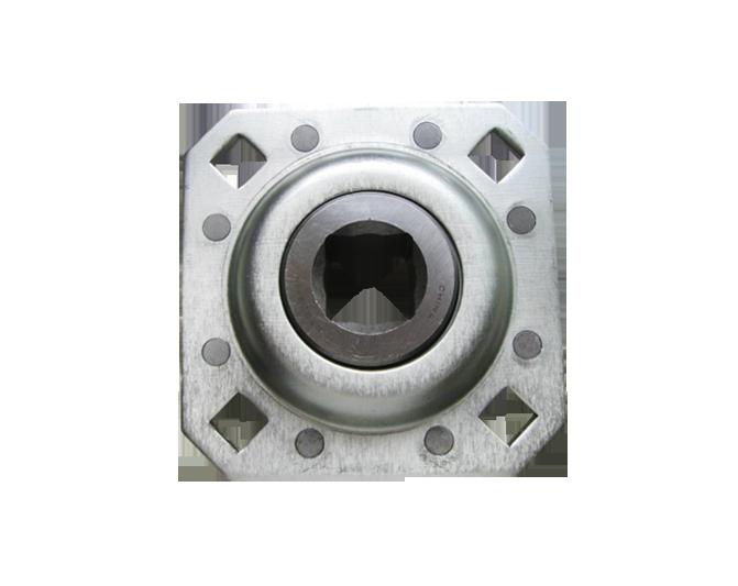Unidades de disco con bridas - Diámetro cuadrado