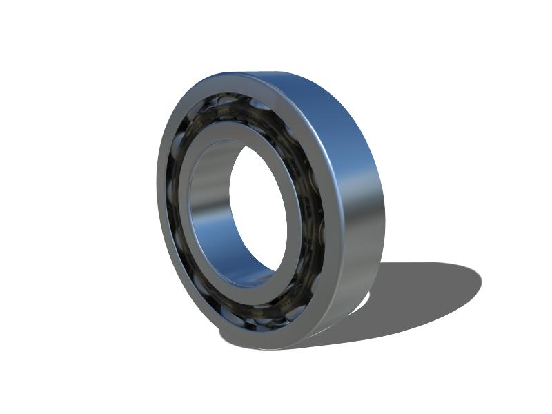 Cojinete de bolas de contacto angular